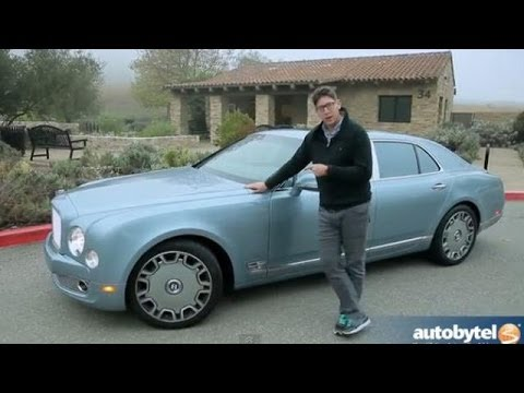 2013 Bentley Mulsanne Mulliner Test Drive High End Luxury Car Video Review