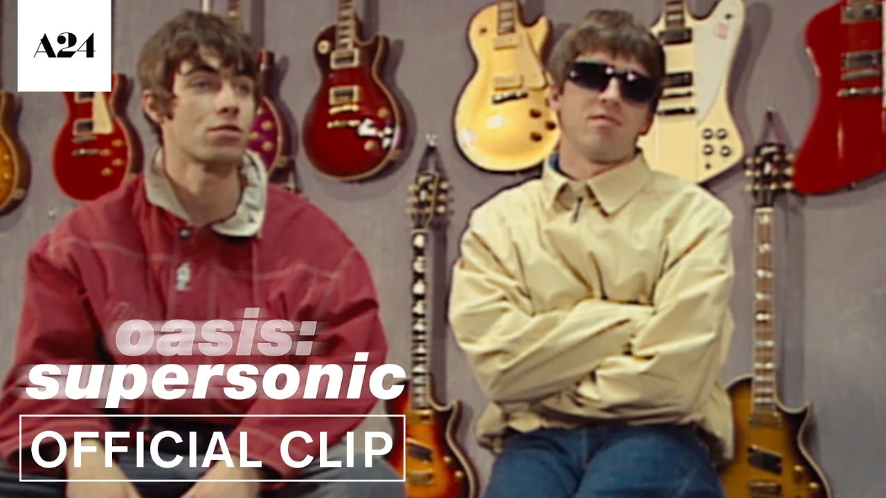 Oasis: Supersonic | Brothers In A Band | Official Clip HD | A24