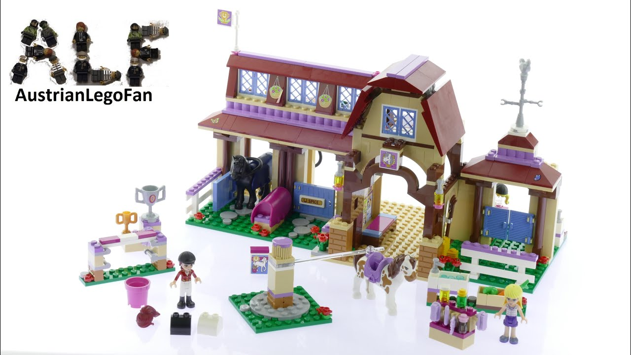Lego Friends Heartlake Riding Club Lego Speed Build Review