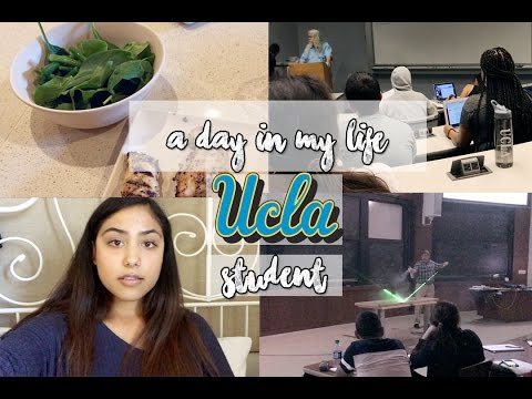 Follow me around: UCLA Student l Physics Demonstration,Biology, parking ticket, and grocery shopping