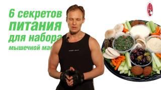 6 секретов питания для набора мышечной массы
