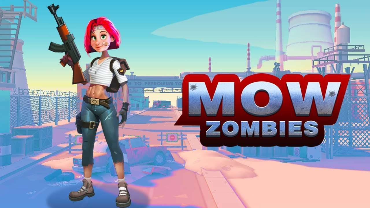 Mow Zombies - Android Gameplay (By Beijing Xunlong) - YouTube