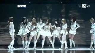 [111129] SNSD - The Boys Remix [MAMA 2011 in Singapore]