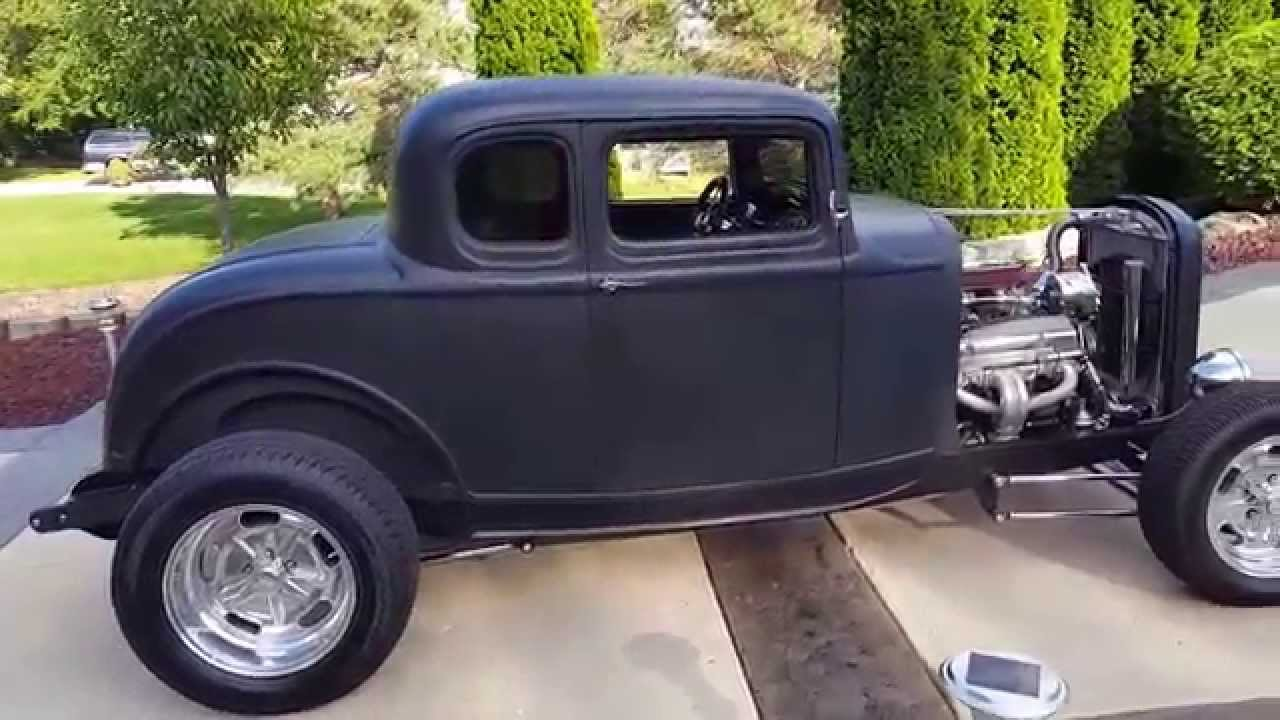 1932 ford 5 window coupe - YouTube