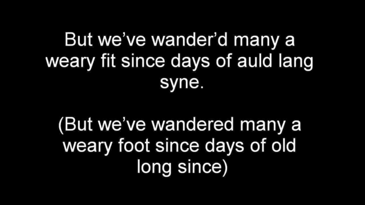 The lyrics to 'Auld Lang Syne' so you don't mumble ... - CNN
