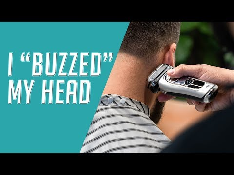 """how-to-cut-and-style-a-""""buzz-cut""""-  -men's-grooming-2019"""