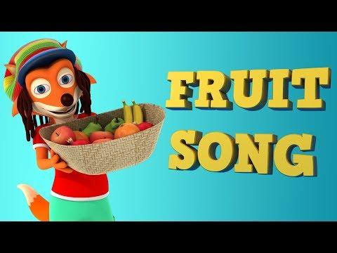 The Fruit Song | Learn  Fruits | Nursery Rhymes for Kids | WooHoo Rhymes 4K