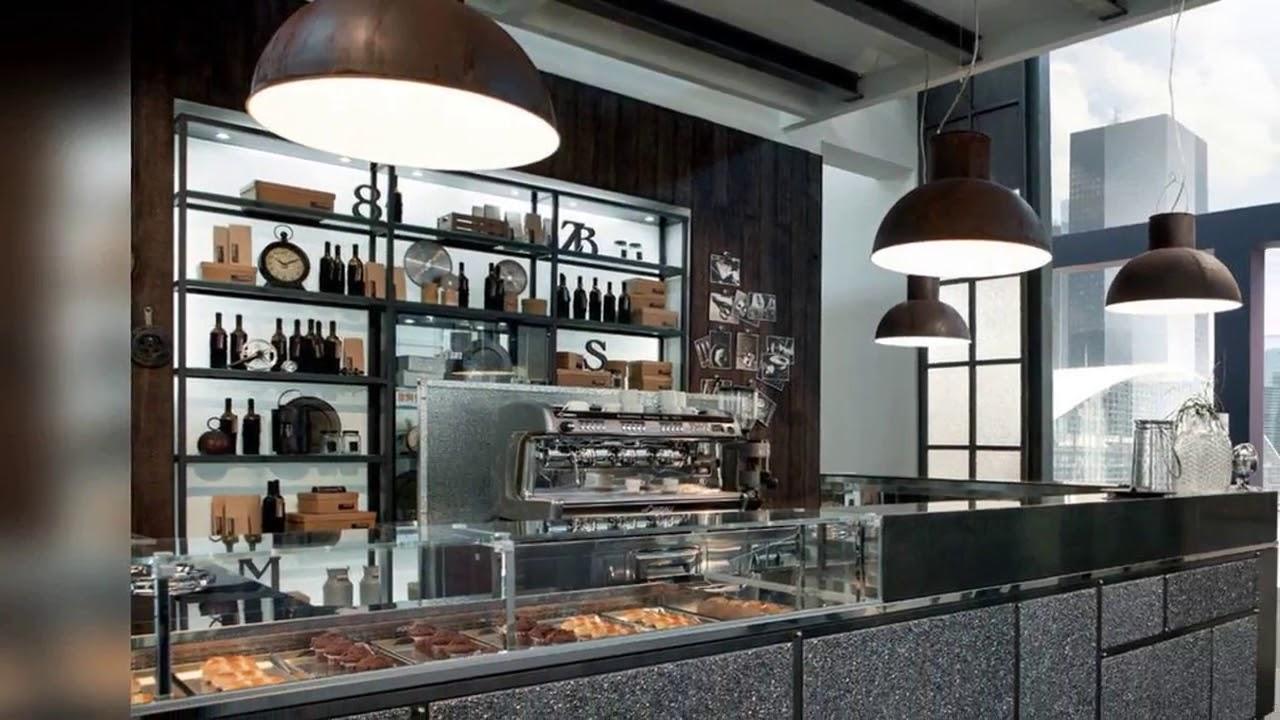 Modern bakery interior design a bakery online - YouTube