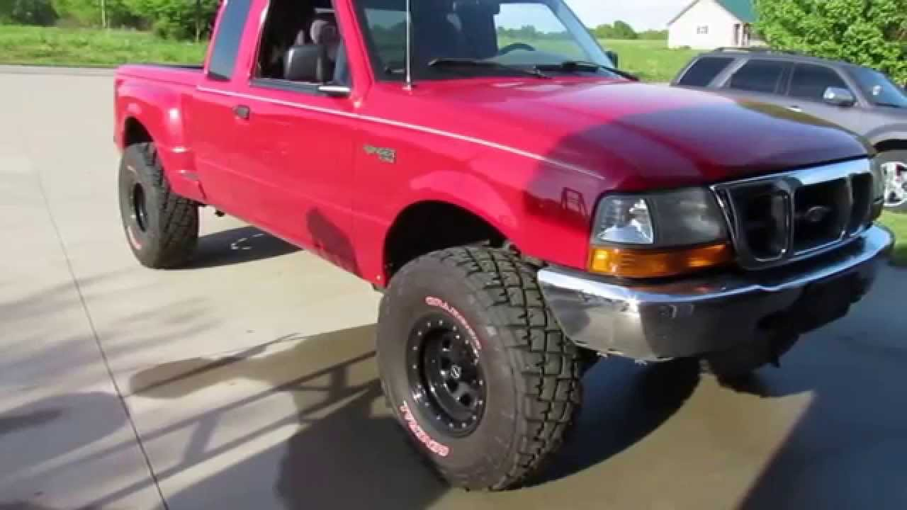 99 ford ranger 3 0 cammed and straight headers youtube