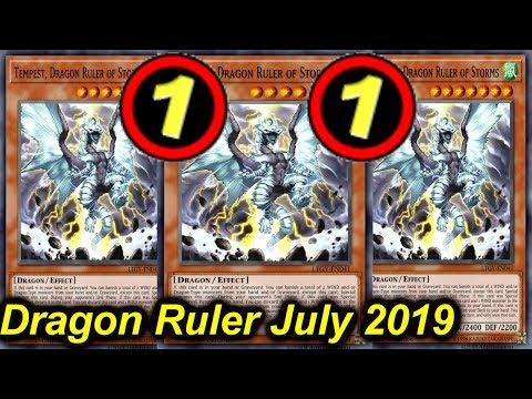 【YGOPRO】TEMPEST DRAGON RULER NEW TCG BANLIST JULY 2019