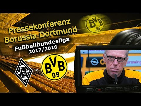 Borussia M`Gladbach - Borussia Dortmund: Pk mit Peter Stöger