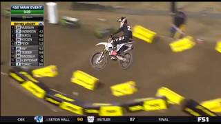 Supercross  450 main event Anaheim 2018