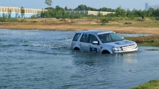 Landrover Freelander 2 offroad experience in Chennai