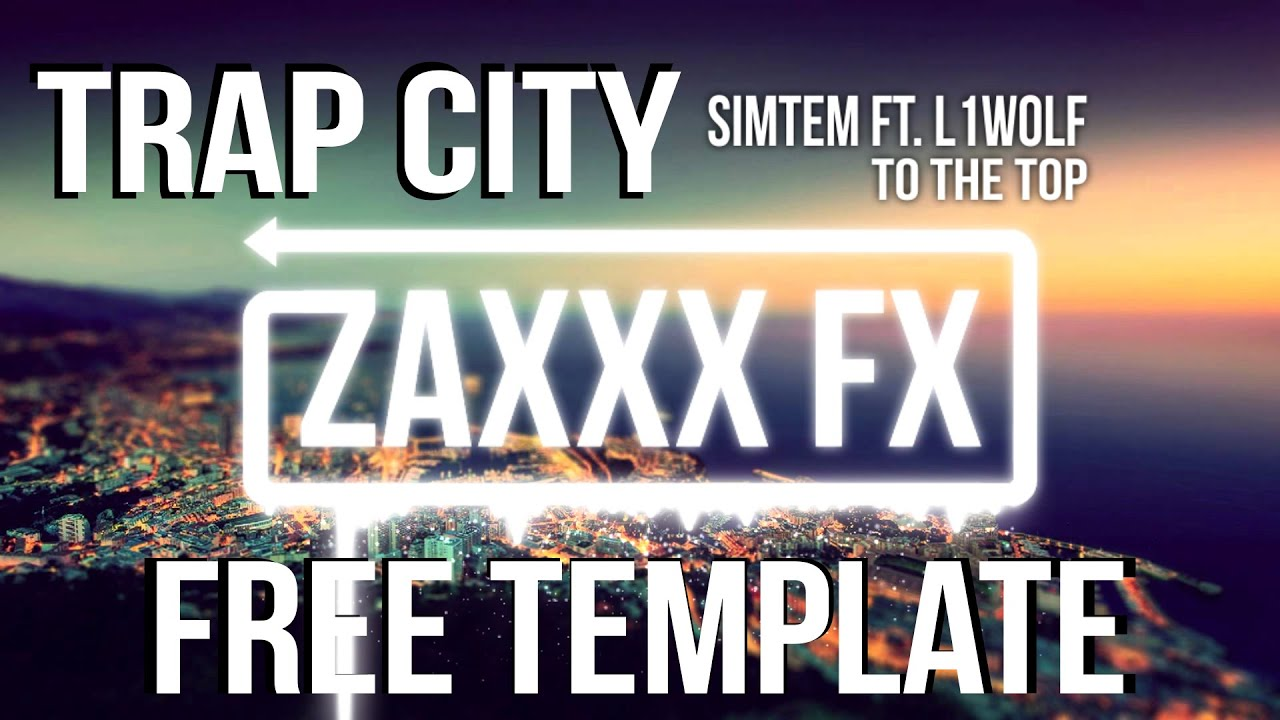 Trap City Visualizer | Free AE Visualizer Template [Audio