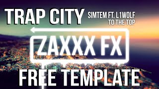 Trap City Visualizer | Free AE Visualizer Template
