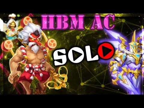 Passando HBM AC Com 1 Herói | Castle Clash