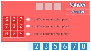 Test 1, Exercice 2 Les carrés logiques