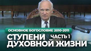 Начало и ступени духовной жизни. Ч.1 (МДА, 2010.10.04) — Осипов А.И.