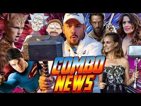 Fase 4 Marvel,  Thor Mujer, dos Superman, Salma Hayek superhéroe, Walking Dead al cine y más #News