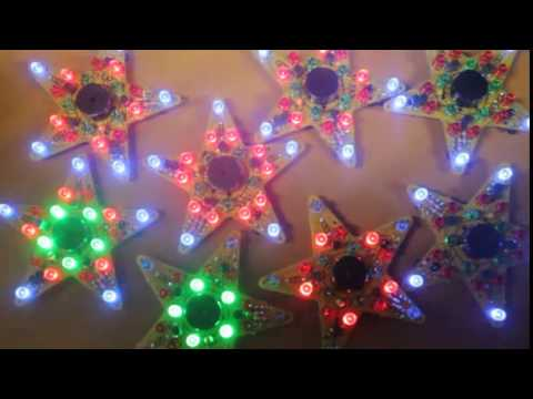 Fun musical christmas flashing led star diy holiday project fun musical christmas flashing led star diy holiday project electronic soldering kit from picokit solutioingenieria