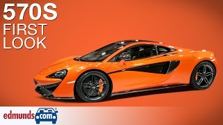 McLaren 570S First Look | 2015 New York Auto Show