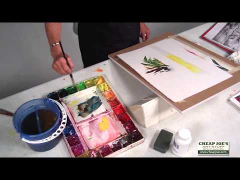How To Use Carr Yellow in Your Painting with Betty Carr