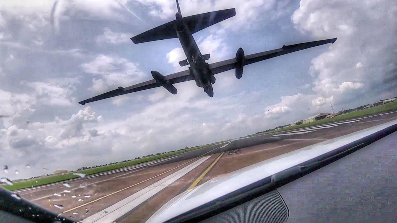 U-2 Chase Cars – Chasing The U-2 'Dragon Lady' On Runway
