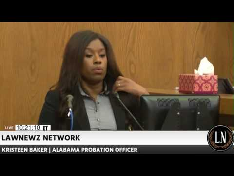 Joshua Gaspar Trial Day 5 Part 1 Probation Officer Kristeen Baker Testifies 08/01/17