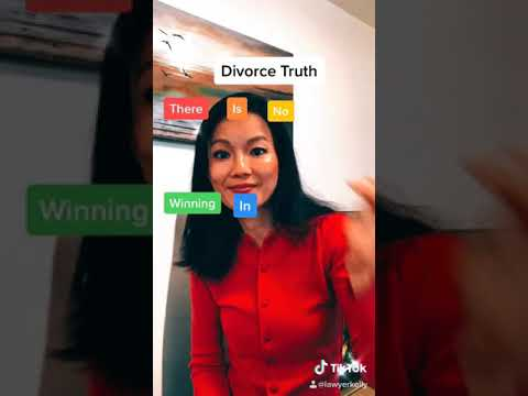 There is No Winning in Divorce