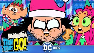 Teen Titans Go! | Naughty Elves And Santa Claus | DC Kids