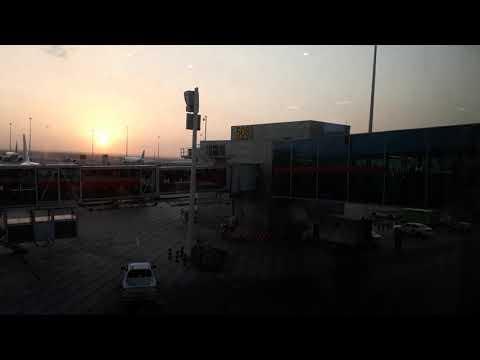 SUN RISE IN RIYADH AIRPORT  BY GAUTAM KOPPALA