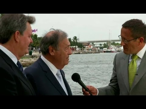Richard Quest talks to swing-state voters in Florida