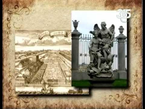 Фонтаны Петергофа  Самсон разрывающий пасть льва  История создания