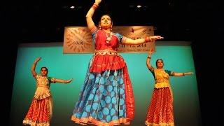 Ganesh Vandana ~ Classical Kathak Dance at NAAD FESTIVAL 2014