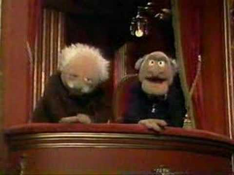 Statler and waldorf (excellent)