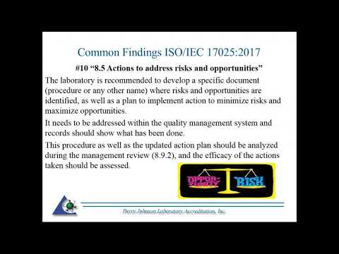 iso/iec-17025:2017---common-findings-in-assessments