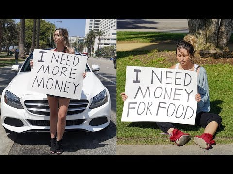 Rich Girl vs Poor Girl (Social Experiment)