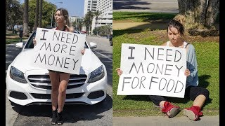 Rich Girl vs Poor Girl (Social Experiment) thumbnail