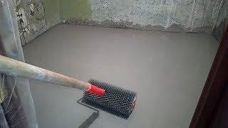 видео Как выровнять пол в ванной быстро