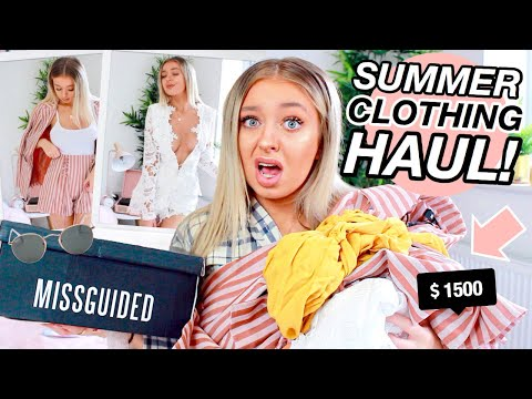 HUGE Try On Summer Clothing Haul! Missguided Summer Haul 2019 W/ DISCOUNT CODE! AD
