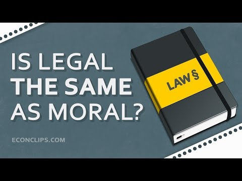 📖 Is Legal The Same As Moral And Just? | What Good Law Should Look Like?