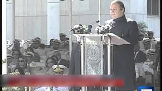 Dunya News-Prime Minister Nawaz Sharif Addressing Passing-out Parade of Navy Cadets