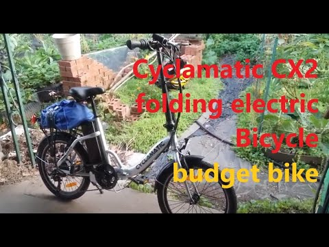 Cyclamatic CX2 folding electric bicycle review