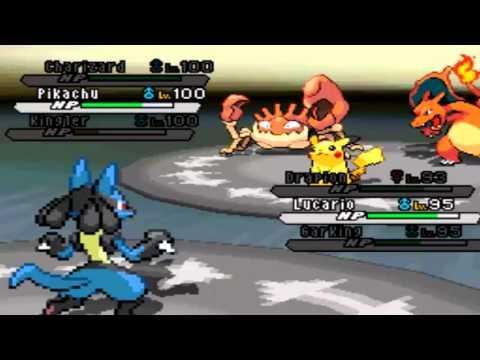 Pokemon White 2 Hack: Vs. Ash Ketchum (Kanto Team)