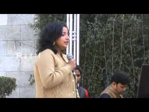 Female Track singer in Delhi -- 9910464896  Rahul Events Female karaoke singer