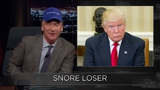 Web Exclusive New Rule: Snore Loser | Real Time with Bill Maher (HBO)