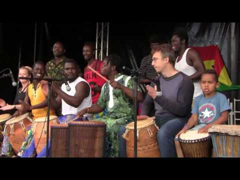 African Drums & Dance In Copenhagen - UNITY DRUM THEATER 1/