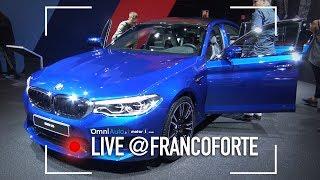 BMW M5, supercar per 4, anche 4X4 | Salone di Francoforte 2017