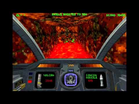 Mike's Old School Game Reviews - #004 Descent (PC - MS-DOS)