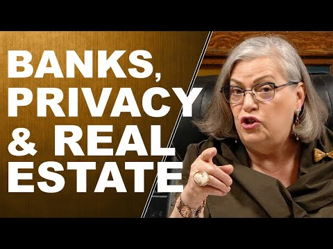 BANKS, PRIVACY & REAL ESTATE...Q&A WITH LYNETTE ZANG